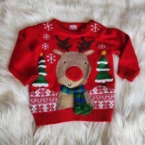 Adorable Baby Christmas Sweater